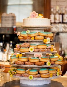 Donut Wedding Cake, Toronto Wedding Photography