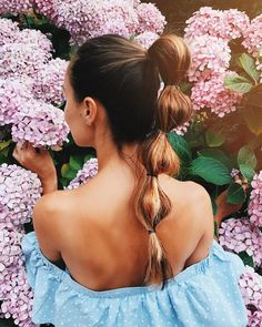 """6,330 Likes, 119 Comments - Masha (@masha_theone) on Instagram: """"This has been one of my favourite hairstyles through summer, so easy to make just with a few tiny…"""""""
