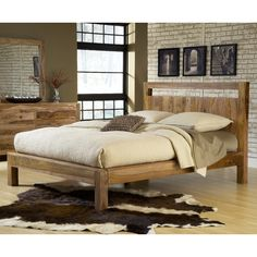 Found it at AllModern - Atria Panel Bed