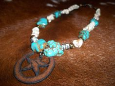 Western Chunky Bling Cowgirl Necklace with by txcowgirlboutique, $25.00