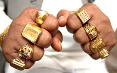 The Exploding Business of Hip Hop Accessories Mens Gold Rings, Rings For Men, Gold Sovereign, Gold Chains For Men, Coin Ring, Presents For Men, Gold Hands, Jewelry Accessories, Unique Jewelry