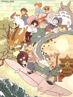 The World of Hayao Miyazaki - Studio Ghibli