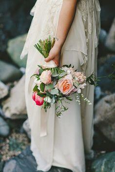 Real Bride April in Sarah Seven Cascade gown. www.sarahsevenblog.com #realbride #SarahSeven #lace #bridalgown #weddingdress #bride