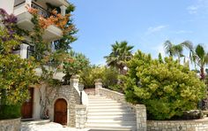 If you follow this entrance you'll get into your apartment! #DelfinoBlu #Corfu