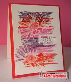 Card by Nonni using Bloom Sketches and Boxed Blooms