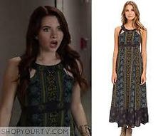 Faking It: Season 2 Episode 15 Karma's Printed Cut Out Dress Free Karma, Katie Stevens, Print And Cut, Day Dresses, Seasons, Style Inspiration, Fashion Outfits, Prints, How To Wear