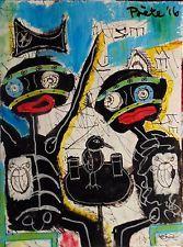 POETE MAUDIT, Street Art, Outsider, Painting, Naive, Brut, THE TELLING