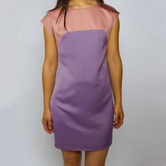 Esther 2-Tone dress  ...for Easter?