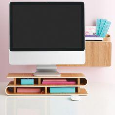 Ashwood up-rise! Desktop Organizer