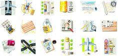 Different Cargo with Transport icons PNG+EPS by AEONFLAX (Chiara Alchimia). Un set con 35 stupende icone/png di grandi dimensioni free, con un Omaggio! Oltre ai formati .png avrete a disposizione i formati .eps per usare le icone nei vostri progetti in totale libertà! Come sempre Live Inspired!!