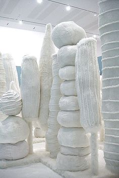 My Monument /   White Forest  - 2008  -   Kathy Temin - http://vaaus.co.uk/kathy-temin/