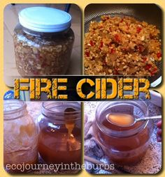 Homemade flu fighter (fire cider or master tonic).  Eco Journey in the Burbs: Fire Cider Flu Fighter