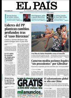 Principales Titulares de Portadas Diarios Periódicos Españoles del Martes dia 13 de Agosto de 2013 ¿Que le Parecio este día? Aquí encontrará diferentes Portadas de Diarios y Periódicos Españoles procurando reflejar el día a día de las Noticias en España con lo que reflejan destacado en sus Titulares, Spain News ¡Esperamos os Guste la idea!