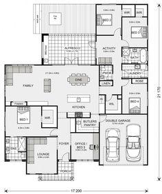 Best House Plans, Dream House Plans, House Floor Plans, New Home Plans, Modern Floor Plans, Home Design Floor Plans, Building Plans, Building A House, Sims House Design