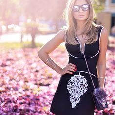 """Thássia Naves no Instagram: """"E agora a parte de cima do look né?!   {O vestido é @skazioficial e a luz maravilhosa é de Uberlândia mesmo, orgulho de morar aqui! } #summertime #thassiastyle #lookoftheday #ootd"""""""