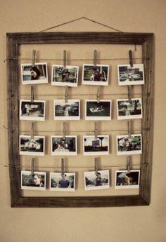 andere manier om foto's op te hangen