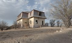 News from Southern Africa & Namibia: Namibia: aerial photos of Liebig ghost house in Kh...
