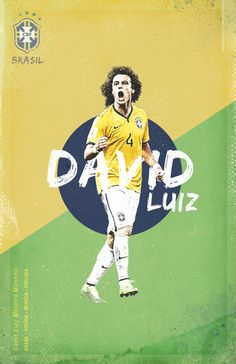 World Cup 2014 by Cristina Martinez, via Behance