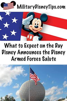 What to Expect on the Day Disney Announces the Disney Armed Forces Salute Disneyland Tips, Disneyland Resort, Disney World Tips And Tricks, Disney Tips, Disney Parks, Military Disney Tickets, Shades Of Green Disney, Disney Theme Park Tickets