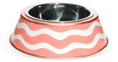 Breakers Pink Dog Bowl