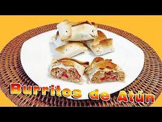 Burritos de atún, ideales para esta cuaresma.
