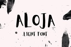 Sleek sellouts! 🤓. Order Aloja Handwriting Unique Brush Stylish Font at €3.40 #Pink #Bouncy #Black #Letters #Poster #Handwritting #Type #Typeface #Event #Best Light Font, Professional Fonts, Modern Script Font, Stylish Fonts, Vintage Fonts, Beautiful Fonts, Handwriting Fonts, Cool Fonts, Things That Bounce