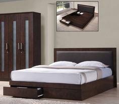 LIFE κρεβάτι διπλό με συρτάρια ΕΜ371 - SOFA KING Έπιπλα για το σπίτι και την επιχείρηση