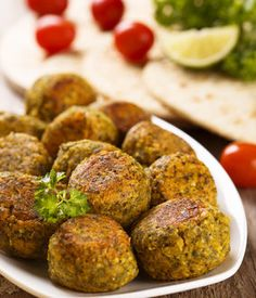 Simple as falafel balls