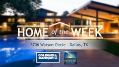 """Coldwell Banker """"Home of the Week"""" Check out this Home's glass enclosed Office! #TeamDaniels #ColdwellBanker"""