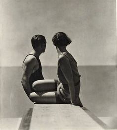Hoyningen-Huene divers 1930.  This image has haunted me since I did my thesis in college.
