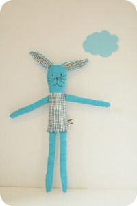 rabbit blue by mikodesign