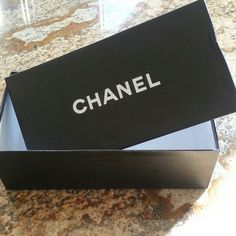 Chanel Box Photos show a few small creases in box, otherwise great condition. CHANEL Other