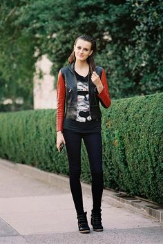 Vanessa Jackman: New York Fashion Week SS 2014....Erjona