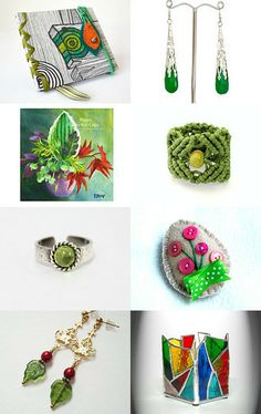 As the Green Grass Grows by SilverandEarth on Etsy--Pinned with TreasuryPin.com! A wonderful treasury with creative and fun gift ideas!  Please, stop by and check out the rest of this wonderful collection!