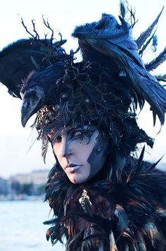 Crow Raven Man