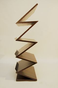 1000 images about case goods on pinterest bookcases - Etagere zig zag ...