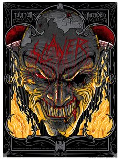 Slayer...ummm yeah another jaw dropping concert