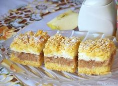 Eat Me Drink Me, Food And Drink, Czech Recipes, Food Cakes, Apple Pie, Vanilla Cake, Nutella, Cake Recipes, Sweet Tooth