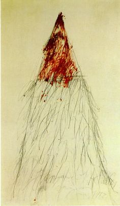 Cy Twombly: The Vengeance of Achilles (1962