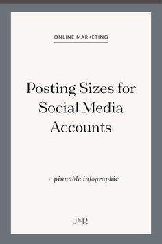 Posting sizes for social media accounts Social Media Images, Social Media Graphics, Social Media Tips, Online Marketing, Social Media Marketing, Marketing Ideas, Content Marketing, Real Estate Business, Business Advice