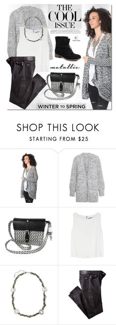 """Winter to Spring Layers"" by mada-malureanu ❤ liked on Polyvore featuring Michael Kors, Alice + Olivia and Whiteley"