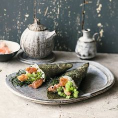 Te-Maki mit Knusperhuhn Rezept | Küchengötter
