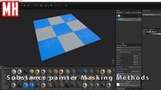 Substance Painter tutorial : How to mask textures on a Face by Face basis