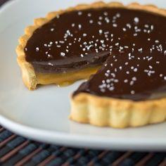 Chocolate Salted Caramel Tart by Sugar and Snapshots