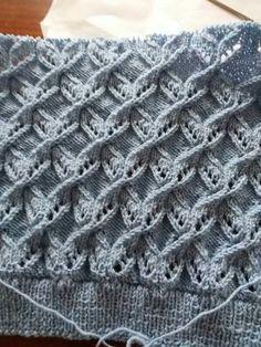 Best Beautiful Easy Knitting Patterns - Her Crochet Lace Knitting Stitches, Lace Knitting Patterns, Cable Knitting, Easy Knitting, Knitting Designs, Stitch Patterns, Diy Crafts Knitting, Herringbone Stitch, Tutorial Crochet