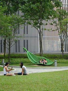 art grass bench
