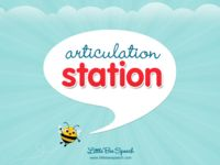 Articulation Station, from Little Bee Speech, was designed by a certified Speech-Language Pathologist to target speech-sound production, but is useful for much more.