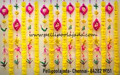 Re-usable eco friendly Palm leaf strings for DIy decor by Chennai branch- to order whats app 8428219151 Used Wedding Decor, Wedding Stage Decorations, Bridal Shower Decorations, Flower Decorations, Mehndi Decor, Mehendi, Cradle Ceremony, Housewarming Decorations, Wedding Invitation Background