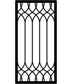 Iron Window Grill, Window Grill Design Modern, Balcony Grill Design, Grill Door Design, Window Security Bars, Wooden Front Door Design, Door Grill, Steel Gate Design, House Outside Design