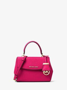 a8a5397ed43c MICHAEL Michael Kors Ava Extra-Small Saffiano Leather Crossbody Mk  Handbags